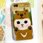 JETOY(ジェトイ) Choo choo iPhone4 ケース Ver.3 ブラウンベア