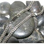 磁気ネックレス 6面キヘイ 50cm 純チタン製 シルバー