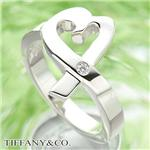 TIFFANY&CO. ラヴィングハートリング 1ダイヤモンド #4.5 / 8 号