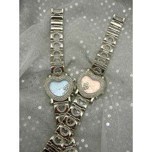 ハート型腕時計 デリシャスハートミッキー ピンク