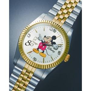 ミッキー80周年記念世界限定メモリアル時計