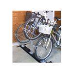 省スペースで自転車を収納【サイクルスタンド】3台用