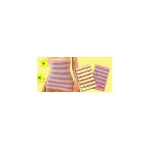 発熱モコモコシリーズ 3点セット(腹巻き/パンツ/レッグウォーマー) アイボリー×ベージュ