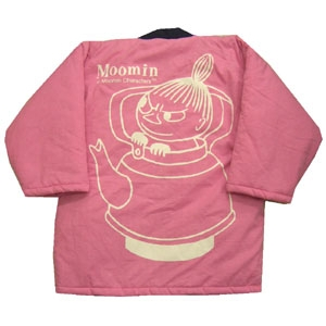 ムーミン綿入れはんてん ミイ・ピンク