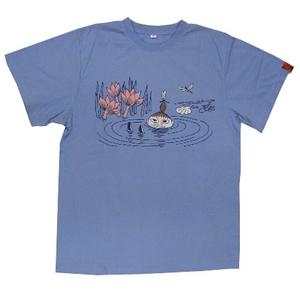 ムーミン Tシャツ ブルー