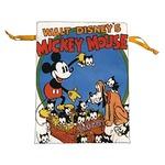 ディズニー ミッキー&プルート 巾着【2枚セット】の詳細ページへ