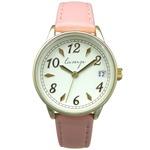 便利な日付付き 腕時計【2本セット】【ピンク・ネイビー】U04013 A-1の詳細ページへ
