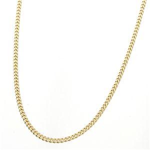 《国産・18金》 K18 二面喜平ネックレス 50cm 5グラム (ゴールドネックレス)