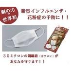 【訳あり】花粉症・新型インフルエンザ対策にも!カプロンマスク20枚セット