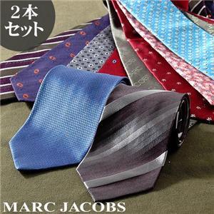 福袋新品 MARC JACOBS イタリア製ネクタイ 2本セット