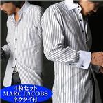 【シーン別コーディネイト】こだわりドレスシャツ4枚セット(MARC JACOBSネクタイ付き!) LLの詳細ページへ