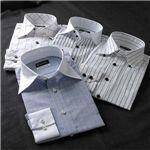 【シーン別コーディネイト】こだわりドレスシャツ4枚セット L