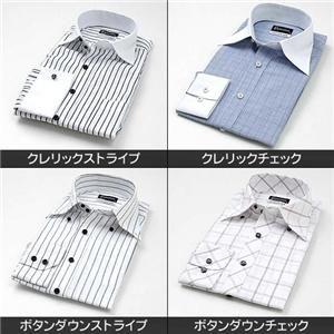 【シーン別コーディネイト】こだわりドレスシャツ4枚セット LL