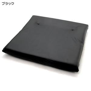 レザーダブルソファー RE01 ブラック
