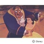 ディズニーアートポスター 美女と野獣