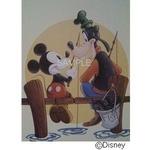 ディズニーアートポスター 釣りの相棒