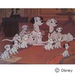 ディズニーアートポスター 101匹ワンちゃん