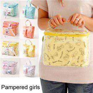 Pampered girls(パンパードガールズ) バック&ポーチセット C-005・バニティーイエローペルシャ