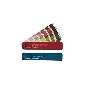 PANTONE パントン 色見本 カラー・ブリッジ<br>コート・上質紙セット
