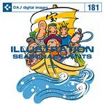 写真素材 DAJ181 ILLUSTRATION  SEASONAL EVENTS 【イラストシリーズ〜日本の行事、風物】