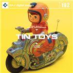 写真素材 DAJ192 TIN TOYS 【ブリキのおもちゃ】