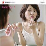 写真素材 EGAOIMAGES S033 若い女性「ビューティー1」