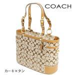 COACH(コーチ) トートバッグ 11237 BKHTN カーキ×タン