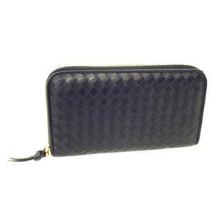 BOTTEGA VENETA (ボッテガヴェネタ) 長財布 114076-V0013-1000(ブラック)