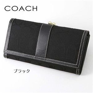 COACH(コーチ) 長財布 6769 ブラック(B4/BK)
