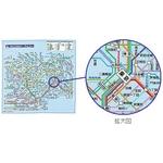 東京近郊鉄道マップ トレシー