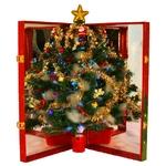 簡単!折りたたみクリスマスツリー『ハッピークリスマス』小