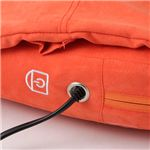 かばん型マッサージ枕 オレンジ