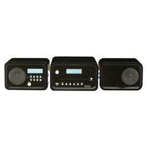 AIVN 2.0ch DVD/CD/SD/USB/AM/FMコンポ WE-SDV01 ブラック