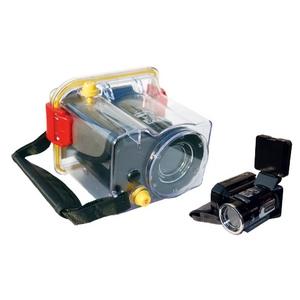 STYLE 防水デジタルムービーカメラ DM-1200WP BK(ブラック)