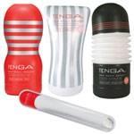 TENGA(テンガ) ホール3種類 + ホールウォーマー セット