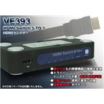 HDMIセレクターVE-393
