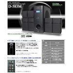 ciconia 5.1chスピーカーシステム D-583M