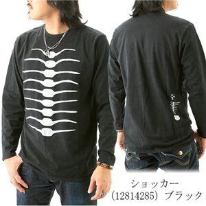 BANDAI ショッカースカルTシャツ 12814285 ブラック L