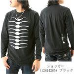 BANDAI ショッカースカルTシャツ 12814285 ブラック M