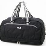 FILA(フィラ) フィットネスボストンバッグ ブラック