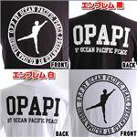 小島よしおプロデュースTシャツ エンブレム黒×ダブルネタ白 計2枚セット Mサイズ