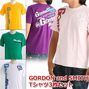 新作GORDON and SMITH Tシャツ3枚セット M