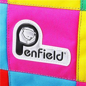 Penfield(ペンフィールド) パッチワーク ダッフルバッグ ピンク