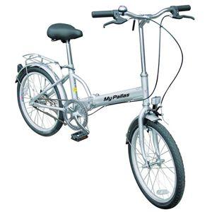 MYPALLAS(マイパラス) 折畳自転車20型 M-27S シルバー