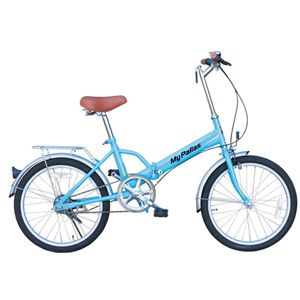 MYPALLAS(マイパラス) 折畳自転車20型 M-27BL ブルー