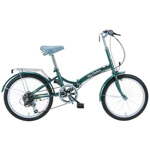 MYPALLAS(マイパラス) 折畳自転車20型6段 M-30GR グリーン