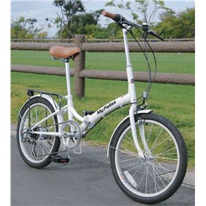 MYPALLAS(マイパラス) 折畳自転車20型6段 M-30W ホワイトの詳細を見る