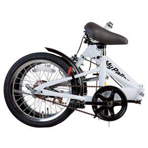 MYPALLAS(マイパラス) 折畳自転車16型 M-101W ホワイト