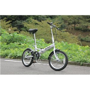 MYPALLAS(マイパラス) 折り畳み自転車 M-101 16インチ シルバー