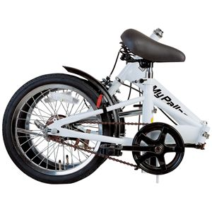 マイパラス M-101 折畳自転車16型 ホワイト
